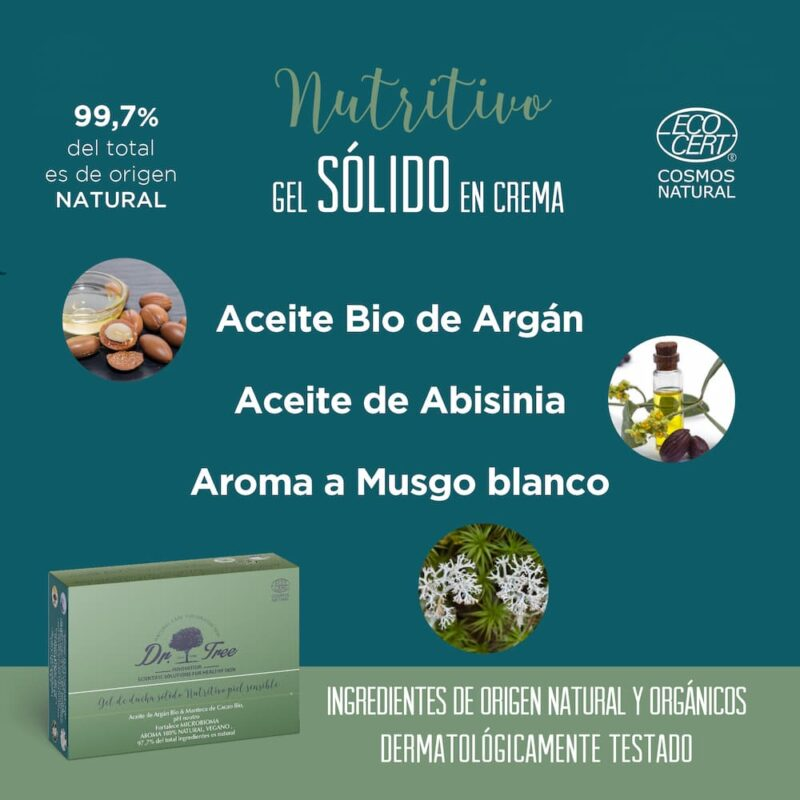 ingredientes gel solido nutritivo