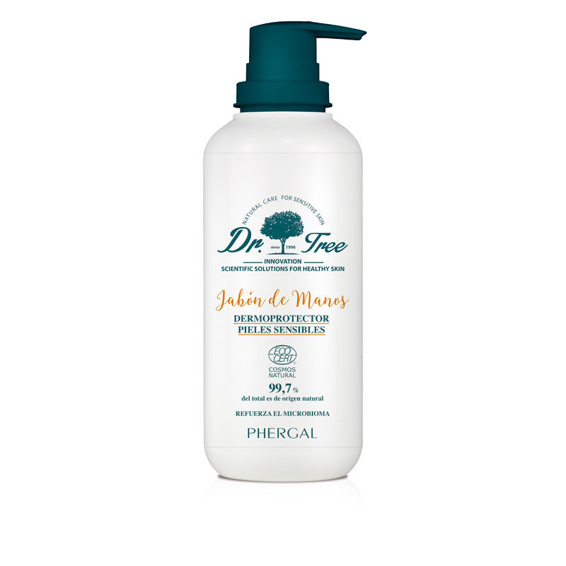 jabon de manos natural piel sensible 400ml